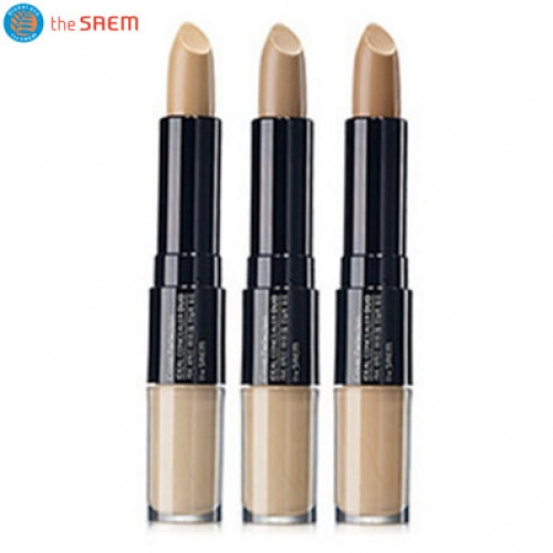 THE SAEM Cover Perfection Ideal Concealer Duo 4.2g+4.5g,THE SAEM