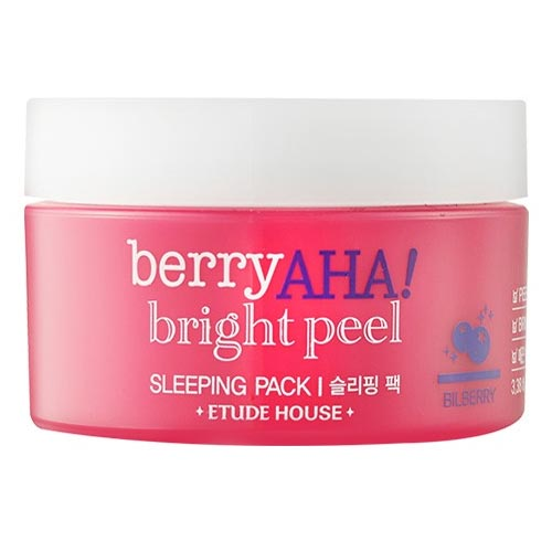 ETUDE HOUSE Berry AHA Bright Peel Sleeping Pack 100ml,ETUDE HOUSE