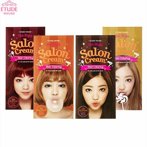 ETUDE HOUSE Hot Style Salon Cream Hair Coloring,ETUDE HOUSE