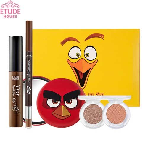 ETUDE HOUSE Angry Birds Eye Makeup Set (Eyebrows, shadows, mirror),ETUDE ...