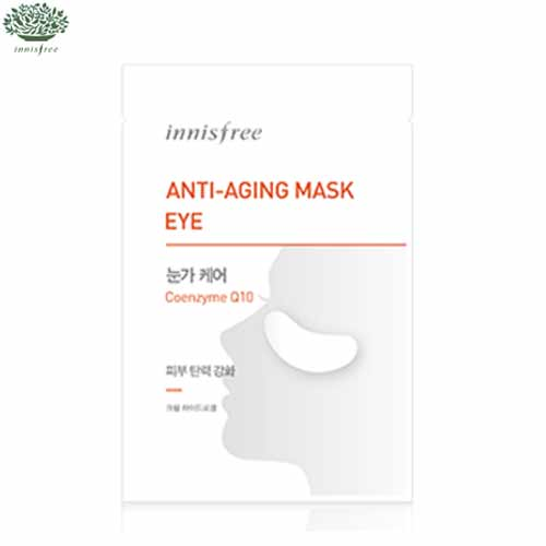 INNISFREE Anti Aging Mask Eye (Coenzyme Q10) 1.5g *2sheets,INNISFREE