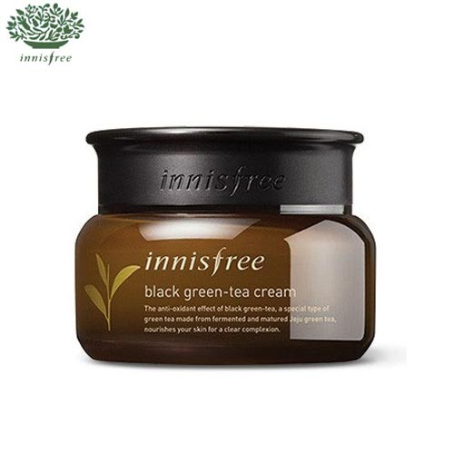 INNISFREE Black Green-Tea Cream 60ml,INNISFREE