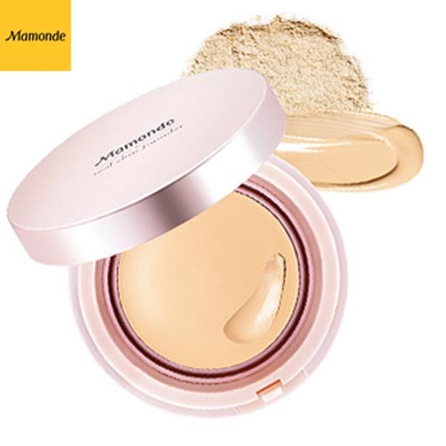 MAMONDE High Cover Liquid Cushion SPF34/PA++ 15g,MAMONDE