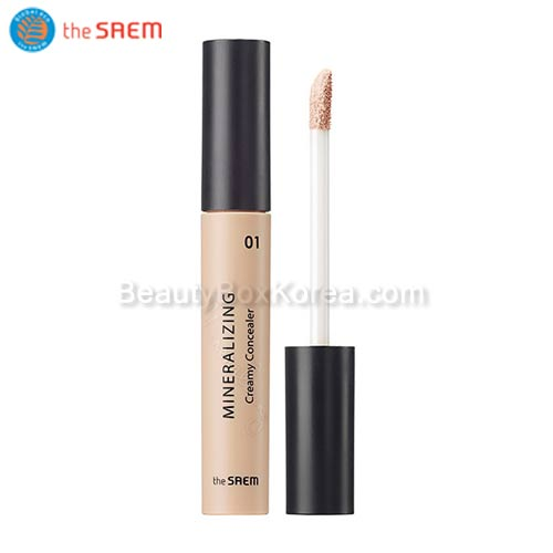 The SAEM Mineralizing Creamy Concealer SPF30 PA++,THE SAEM
