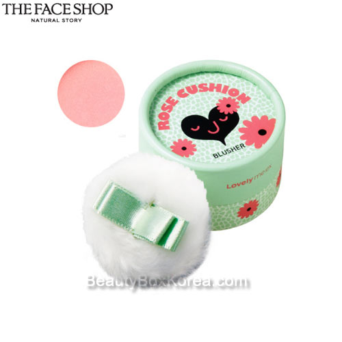 THE FACE SHOP Lovely Mix Pastel Cushion Blusher 5g [WS],THE FACE SHOP