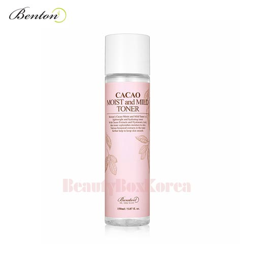 BENTON Cacao Moist and Mild Toner 150ml,BENTON