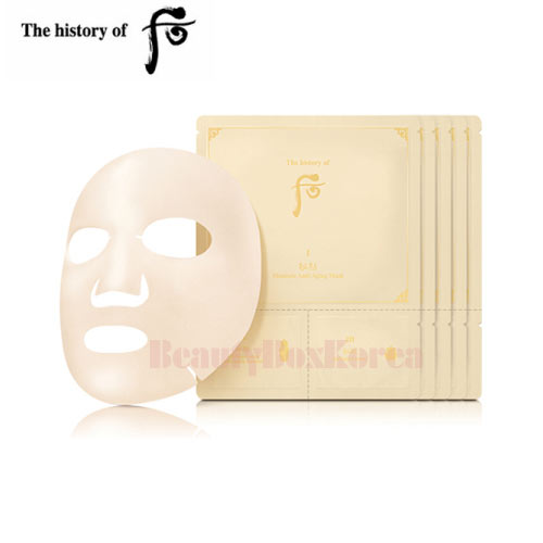 THE HISTORY OF WHOO Bichup Moisture Anti-Aging Mask 23ml*5ea,THE HISTORY OF WHOO