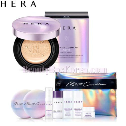 Hera Uv Mist Cushion Cover Set 7items Available Now At Beauty Box Korea