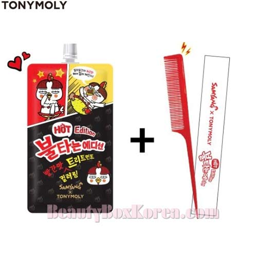 TONYMOLY Red Coloring Treatment 25ml + Tail Comb 1ea [Hot Edition],TONYMOLY