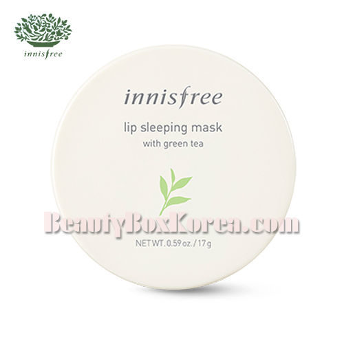 INNISFREE Green Tea Lip Sleeping Mask 17g,INNISFREE