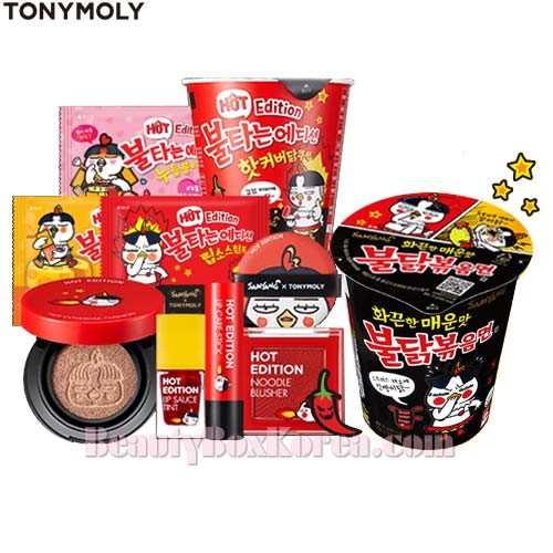 TONYMOLY Hot Edition &SAMYANG Spicy Fried Noodle Set [Hot Edition](PRE-ORDER),TONYMOLY