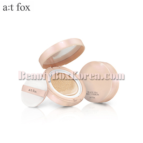 A T Fox Black Tea Bb Cushion 15g Available Now At Beauty Box Korea