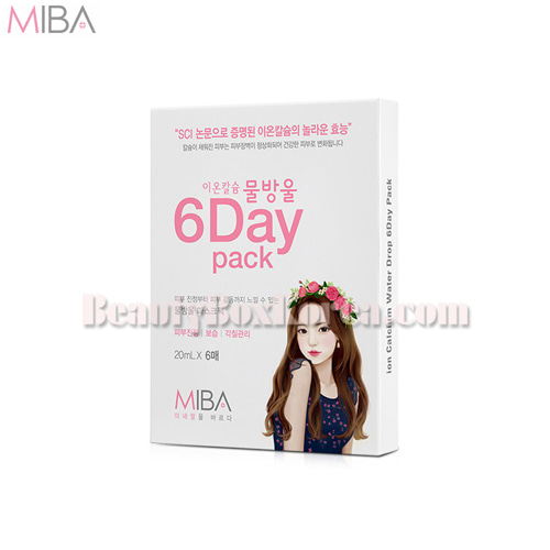 MIBA Ion Calcium Water Drop 6Day Pack 20ml*6ea,MIVA