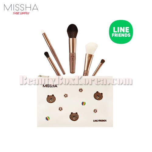MISSHA Artistool To Go Kit 6items[LINE FRIENDS Edition],MISSHA