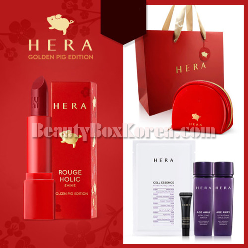 HERA Rouge Holic Shine Special Set 7items[Golden Pig Edition],HERA
