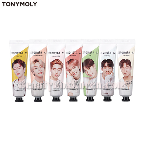 TONYMOLY MONSTA X I'm Hand Cream 30ml+Photo Card 1ea,TONYMOLY