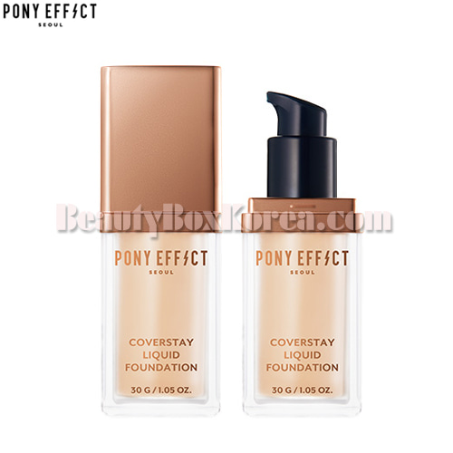 PONY EFFECT Coverstay Liquid Foundation 30g,PONY EFFECT