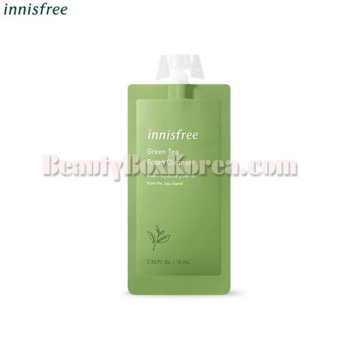 INNISFREE Green Tea Foam Cleanser 7Days 10ml,INNISFREE