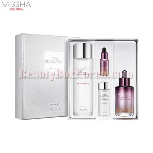 MISSHA Time Revolution Bestseller Special Set 4items,MISSHA