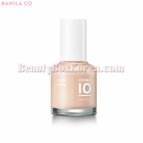 BANILA CO Cover 10 Real Stay Foundation 30ml,BANILA CO.