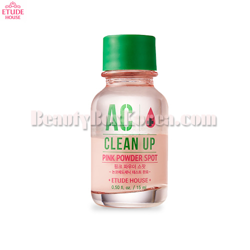 ETUDE HOUSE AC Clean Up Pink Powder Spot 15ml,ETUDE HOUSE