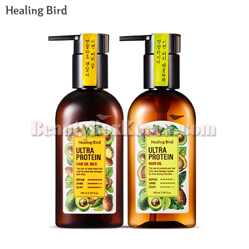 HEALING BIRD Ultra Protein Hair Oil 100ml,HEALING BIRD