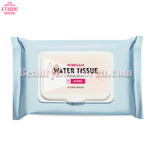 ETUDE HOUSE Pick&Clean Water Tissue 50ea 270ml,ETUDE HOUSE