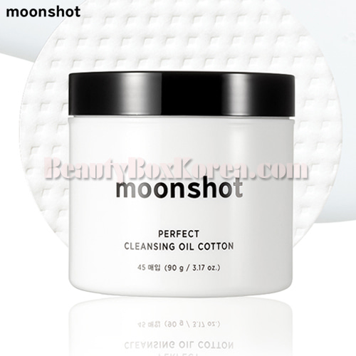 MOONSHOT Perfect Cleansing Oil Cotton 45ea 90g,MOONSHOT