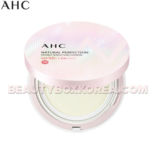 AHC Natural Perfection Double Shield Sun Cushion SPF50+ PA++++ 25g,AHC