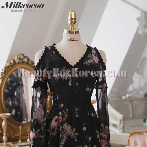 MILK COCOA Tokyo red rose dress 1ea,Other Brand