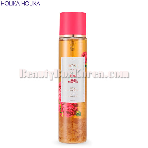 HOLIKA HOLIKA Rose Floral Essence Petal Hair & Body Mist 150 ml,HOLIKAHOLIKA