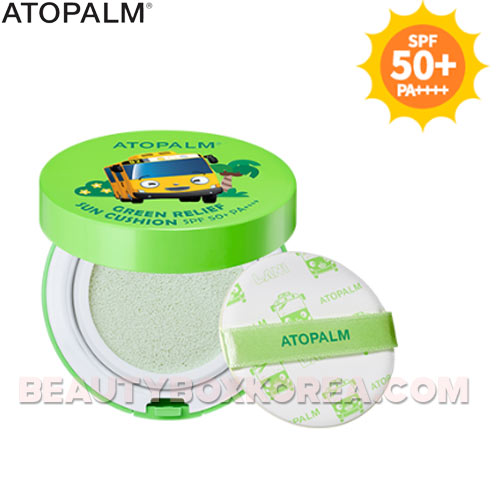ATOPALM Green Relief Sun Cushion SPF50+ PA++++ 13g,ATOPALM