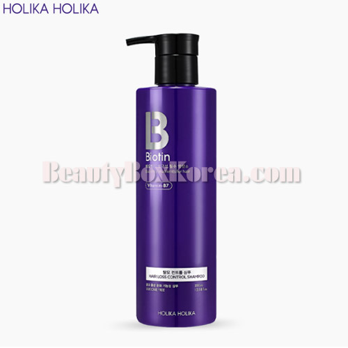 HOLIKA HOLIKA Biotin Hair loss Control Shampoo 390ml,HOLIKAHOLIKA