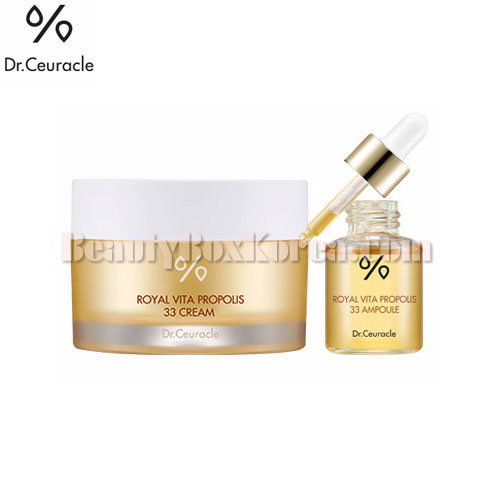 DR.CEURACLE Royal Vita Propolis 33 Cream Set 2items,Other Brand