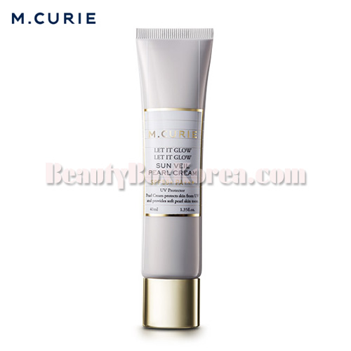 M.CURIE Sun Veil Pearl Cream SPF 50+ PA+++ 40ml,Other Brand