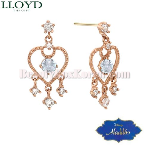 LLOYD Ethnic Jasmine 10K Gold Earrings 1pair LPTJ4026T [LLOYD x ALADDIN][Jasmine Collection],Beauty Box Korea