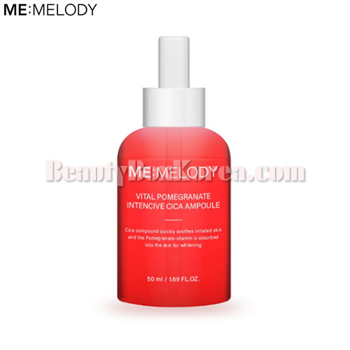 ME:MELODY Vital Pomegranate Intencive Cica Ampoule 50ml