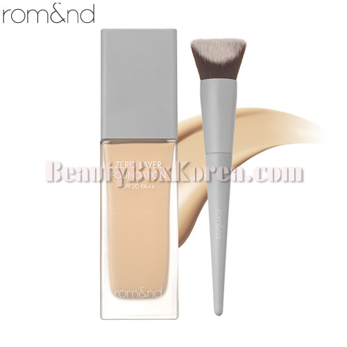 ROMAND Zero Layer Foundation+Brush set 2items