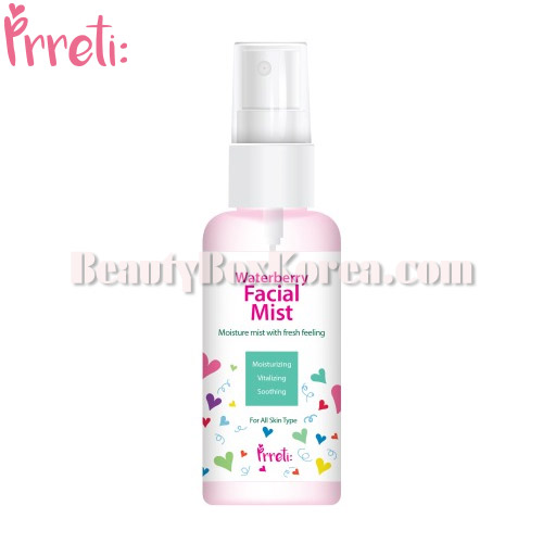 PRRETI Waterberry Facial Mist 80ml