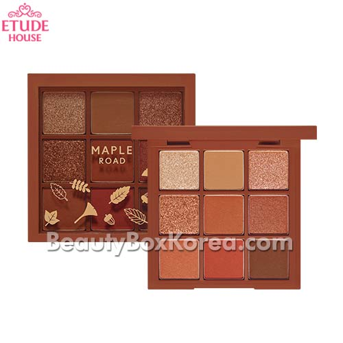 ETUDE HOUSE Play Color Eyes Maple Road 0.9g*9colors [Online Excl.],ETUDE HOUSE