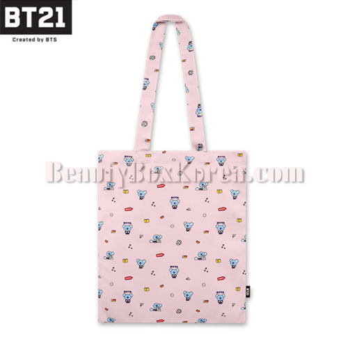BT21 Pattern Eco Bag 1ea [BT21 x MONOPOLY]