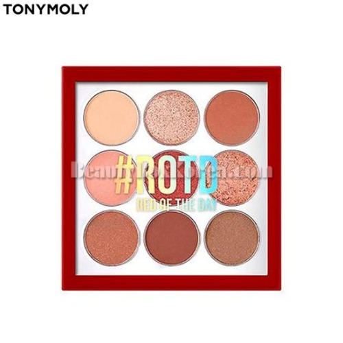 TONYMOLY Perfect Eyes Mood Eye Palette 8.5g [#RORD Red Of The Day Edition]