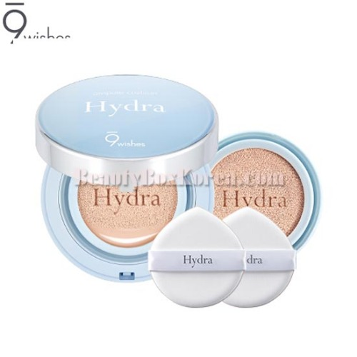 9WISHES Hydra Ampule Cushion 15g*2ea