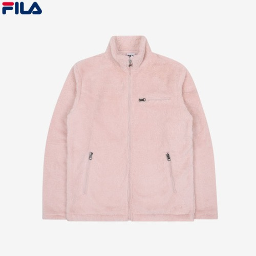 FILA Crema Boa Fleece Jacket (Unisex)1ea