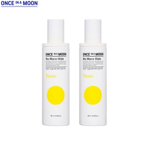 ONCE IN A MOON No More Hide Toner Special Set 2items