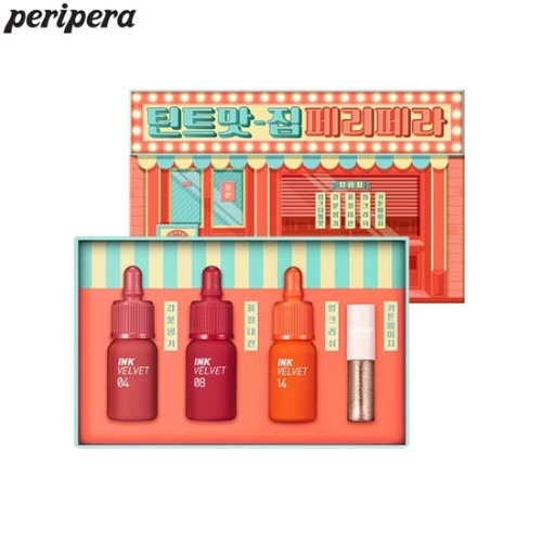 PERIPERA Ink The Velvet Hotspot Special Set 4items [Limited Edition]