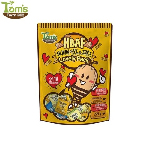 TOM'S FARM Honey Butter Almond & Friends Lovely Pack 225g