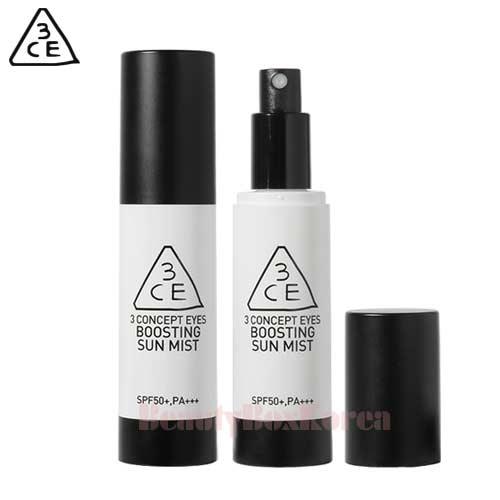 3CE Boosting Sun Mist 60ml available now at Beauty Box Korea