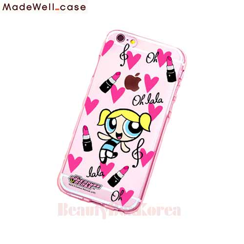finest selection a62ba 51699 MADEWELL-CASE Power Puff Girls Clear Jelly LaLa Bubble available now at  Beauty Box Korea