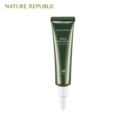 NATURE REPUBLIC Snail Solution Eye Cream 30ml,NATURE REPUBLIC
